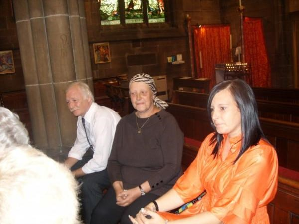 mam, dad and michelle