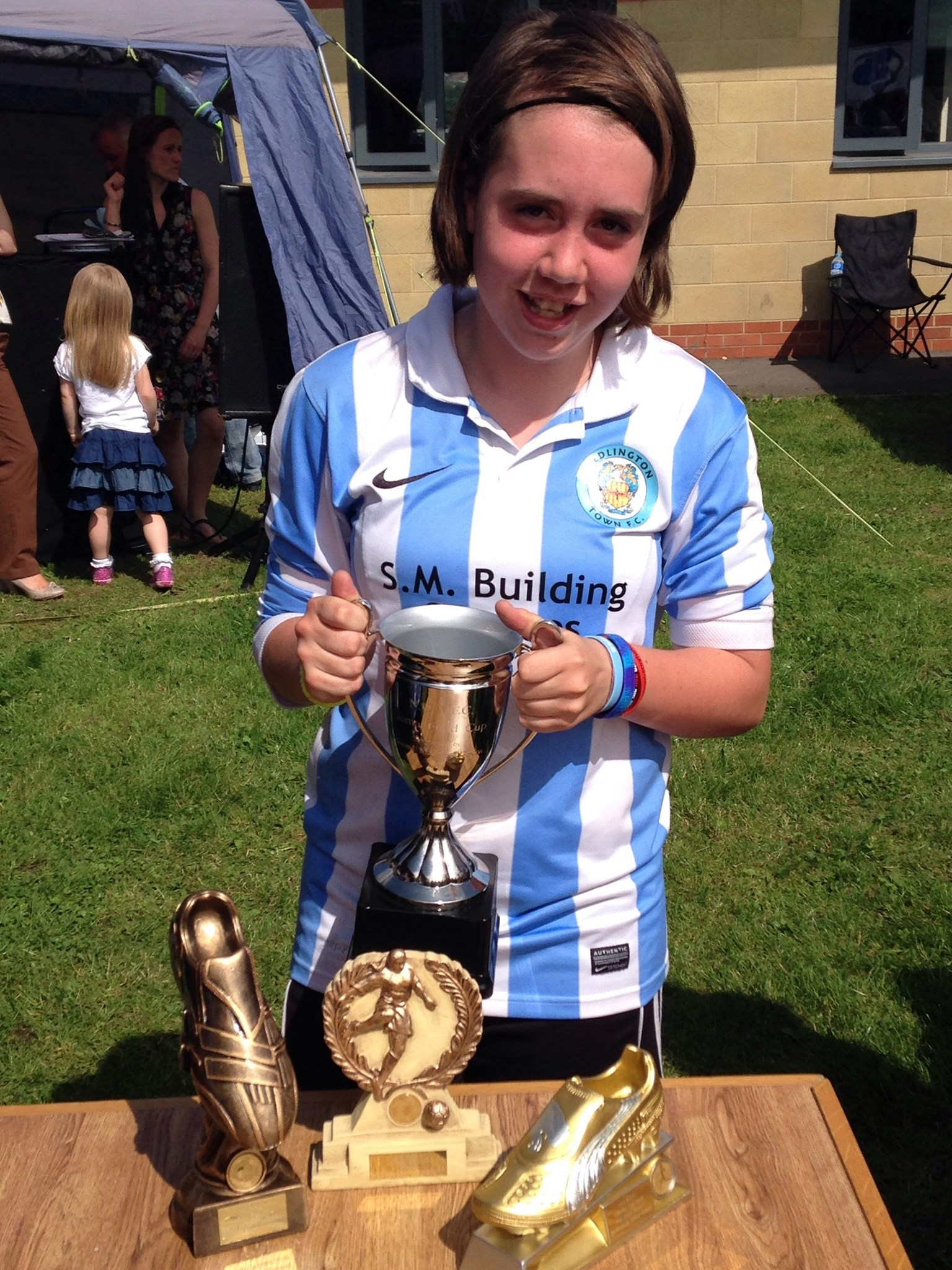 Your beautiful granddaughter Megan she is making us all proud and Iam sure you are too she loves you