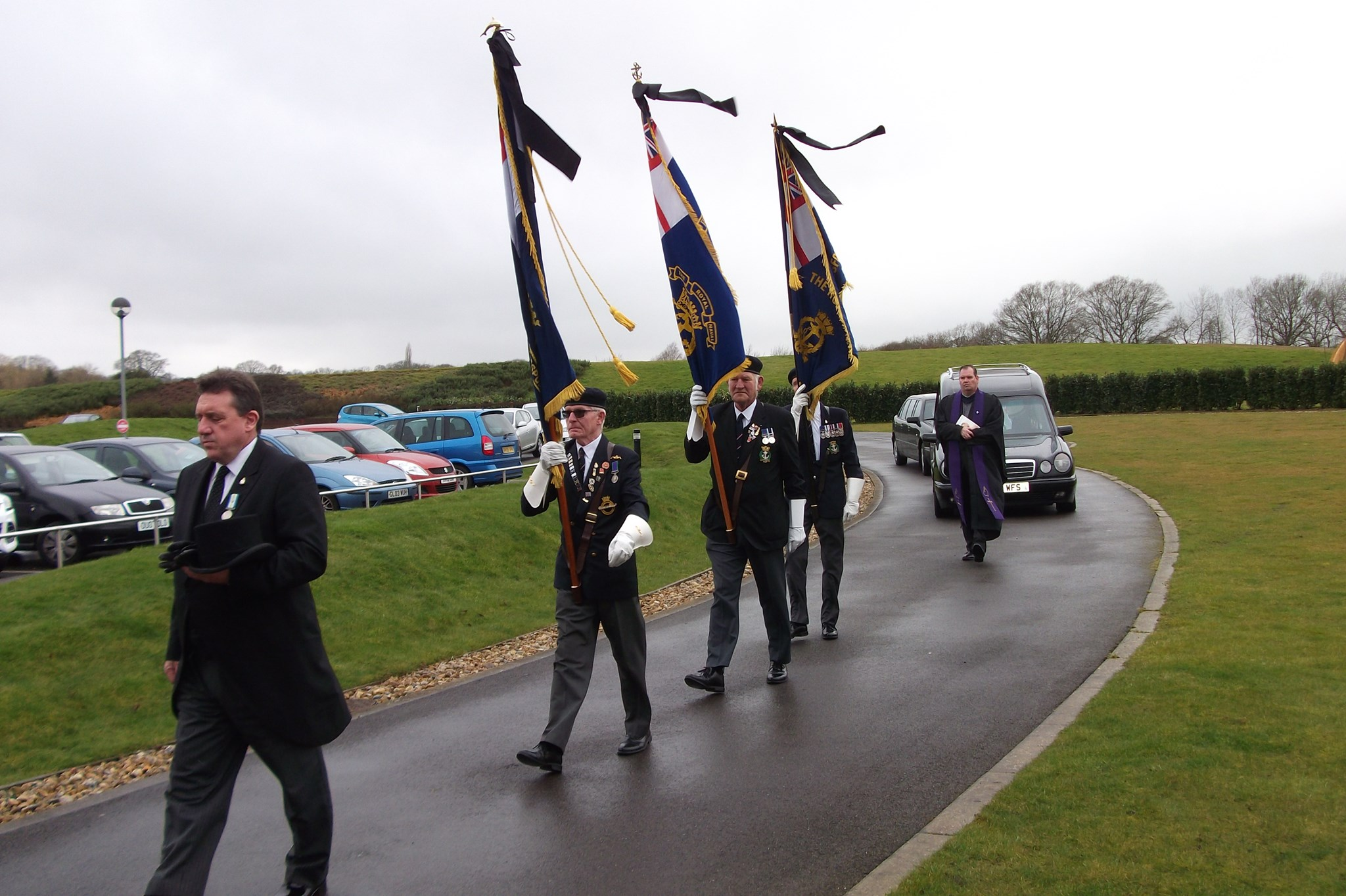 The Funeral of CPO WEA Keith Knight  1st March 2016