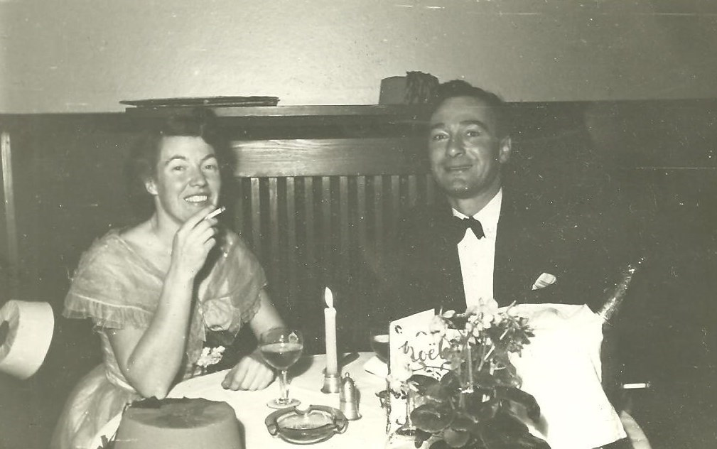 A night out on the town, c.1949