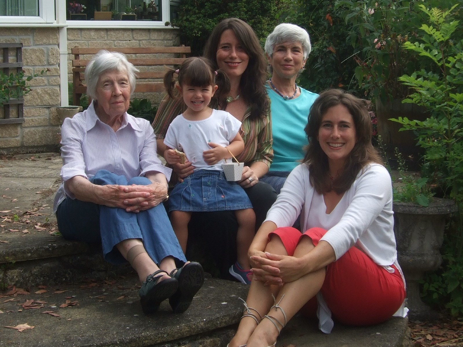 Four generations, May 2009