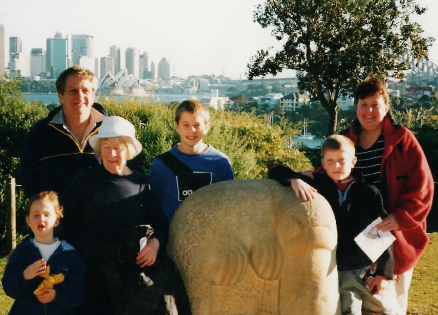 Sydney with the Smiths, 2000