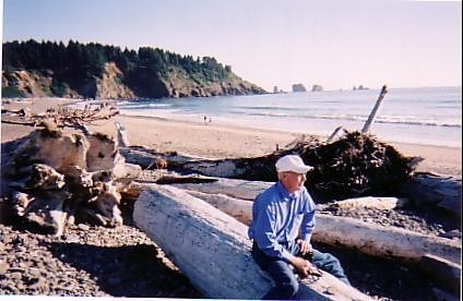 Bill at La Push, WA (~2007)