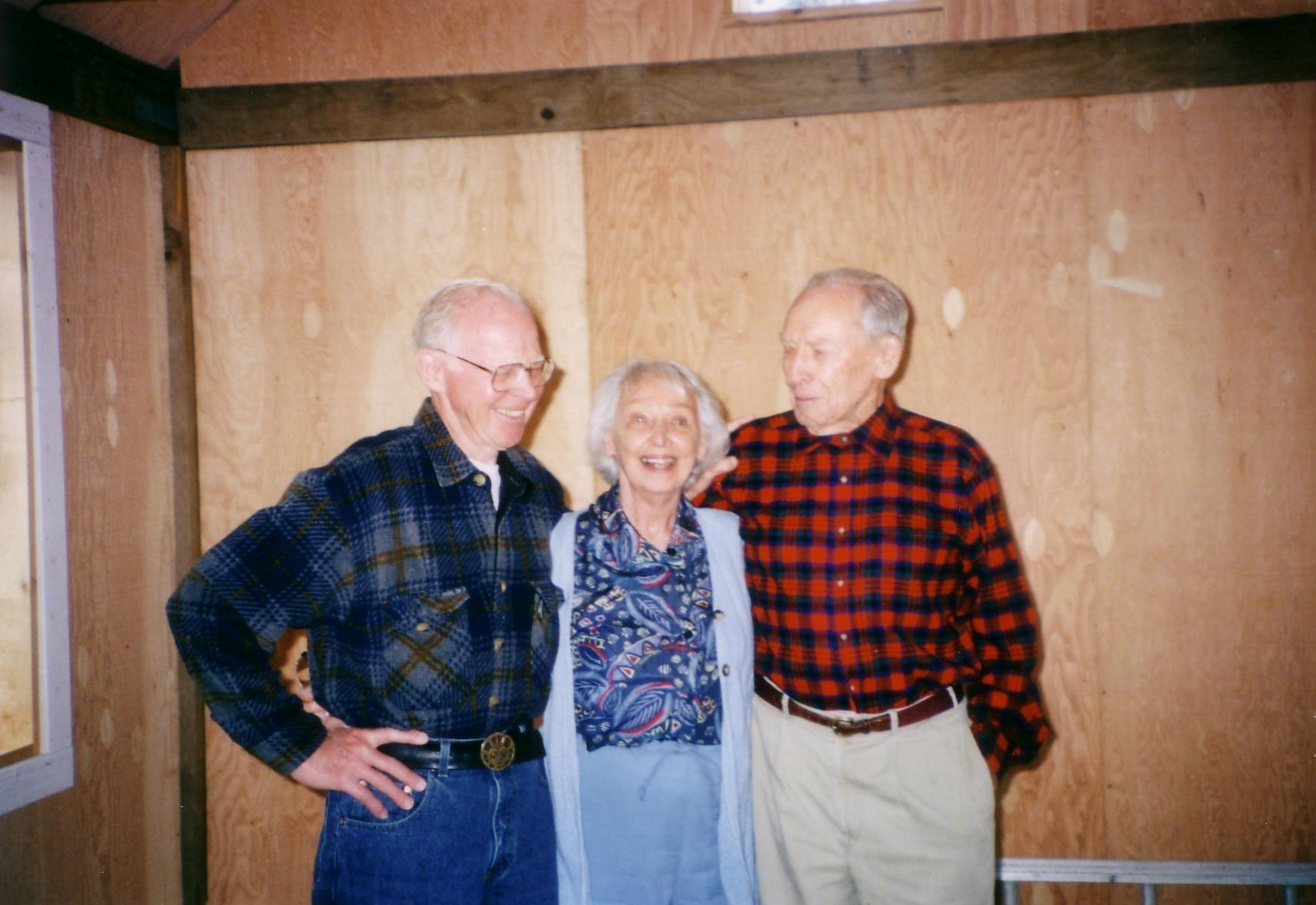Bill, Sister Helen, Brother Bert