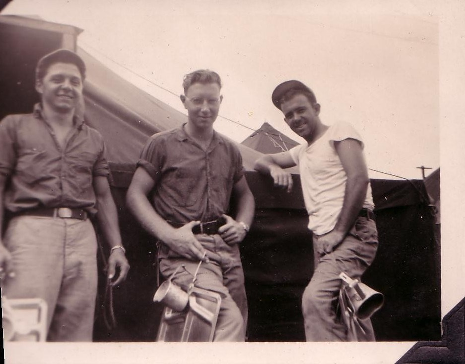 Hmmm... Bill is in the middle in this one. Navy ~1945