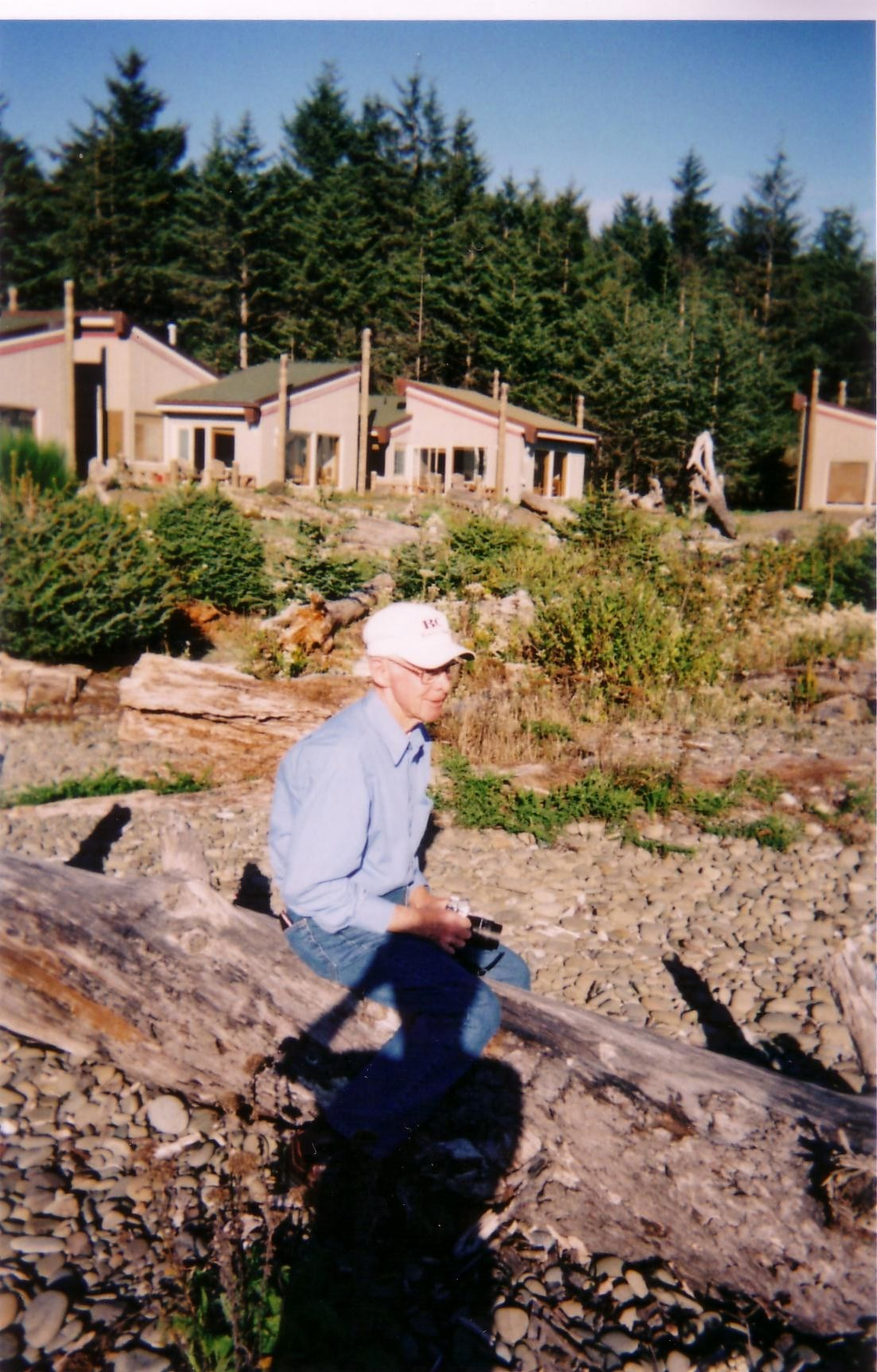 Bill at a Family Trip in La Push, WA