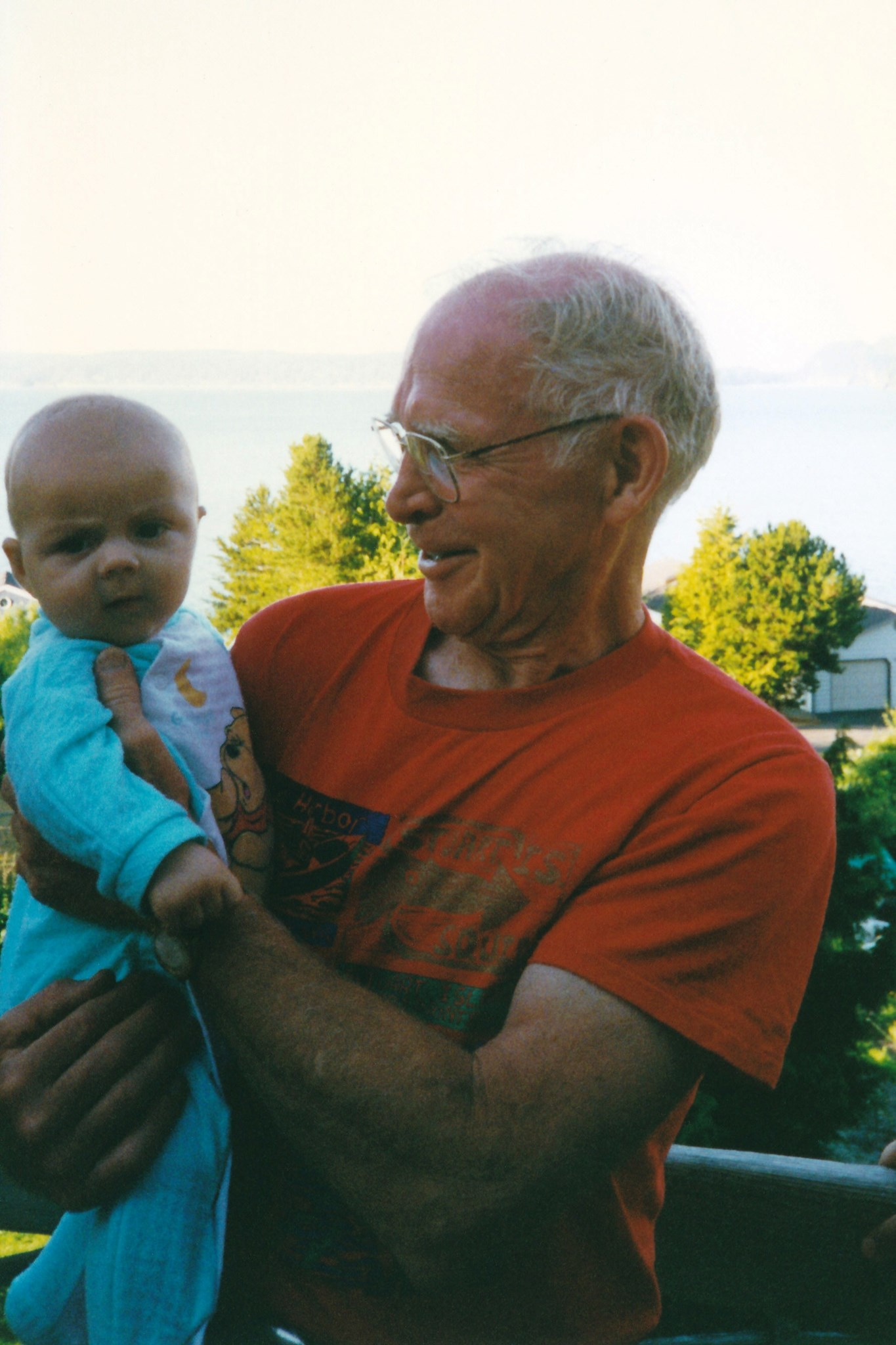 Bill and Seth (The Unofficial Grandchild)