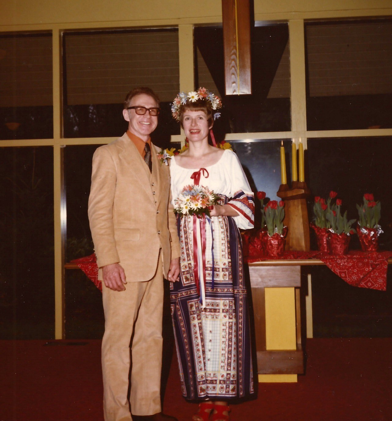 Mom and Dad's Wedding Day Feb 12, 1977