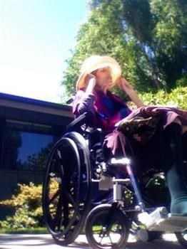 Karen Outside Nursing Home 7/17