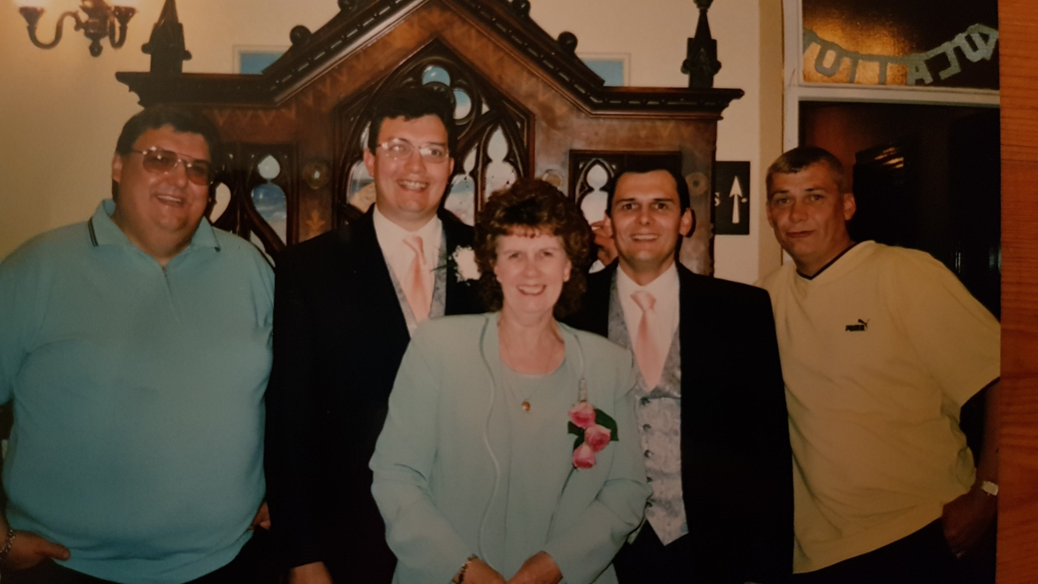 Mum and her four boys