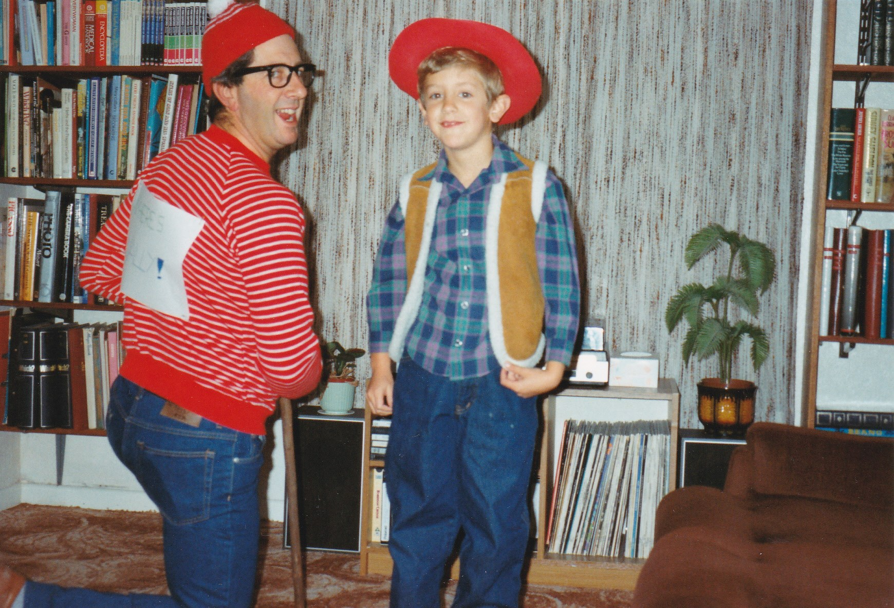 Where's Wally? Dressing Up. Tim as Woody