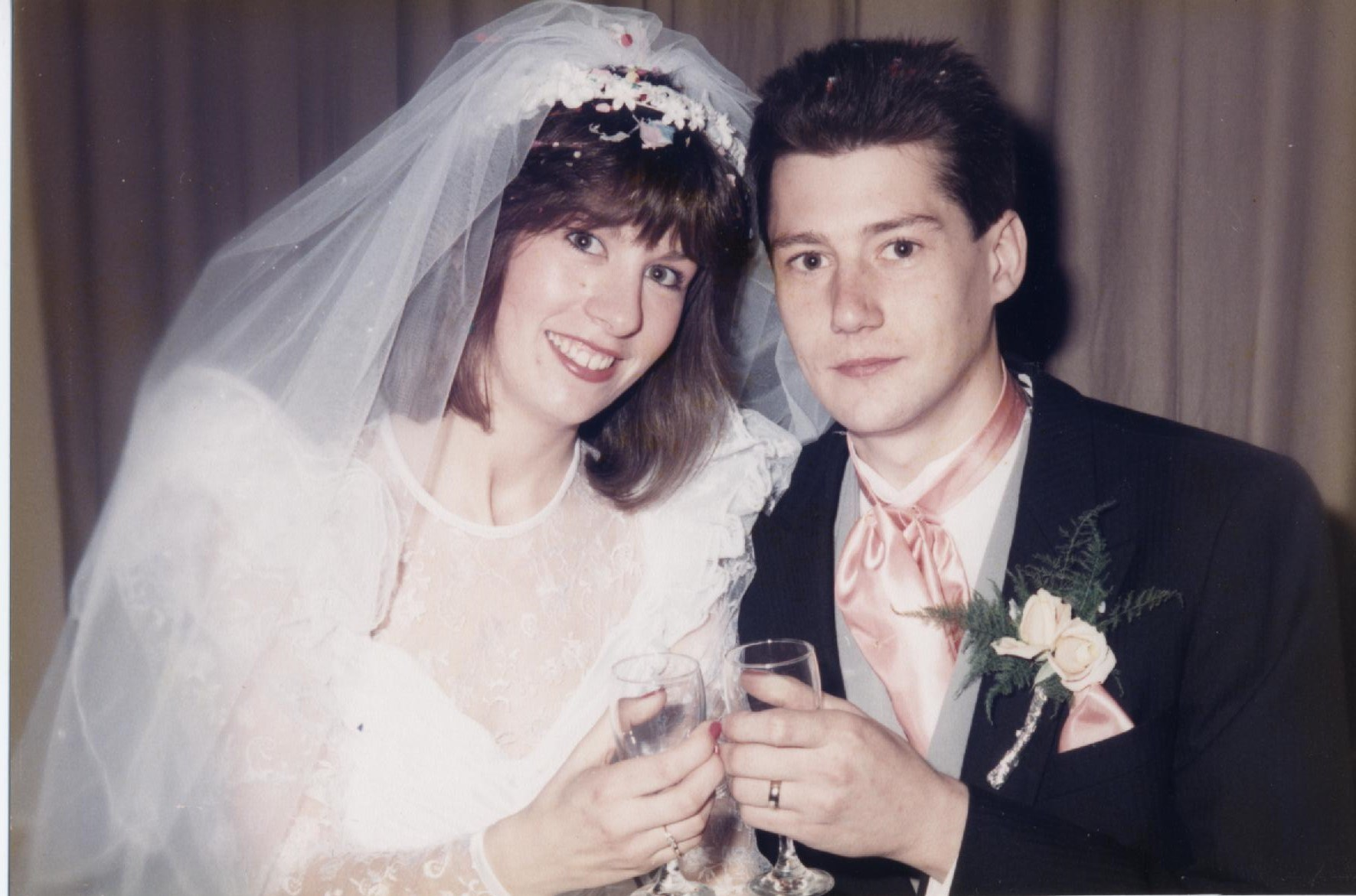Our 1st Wedding - 14th May 1988