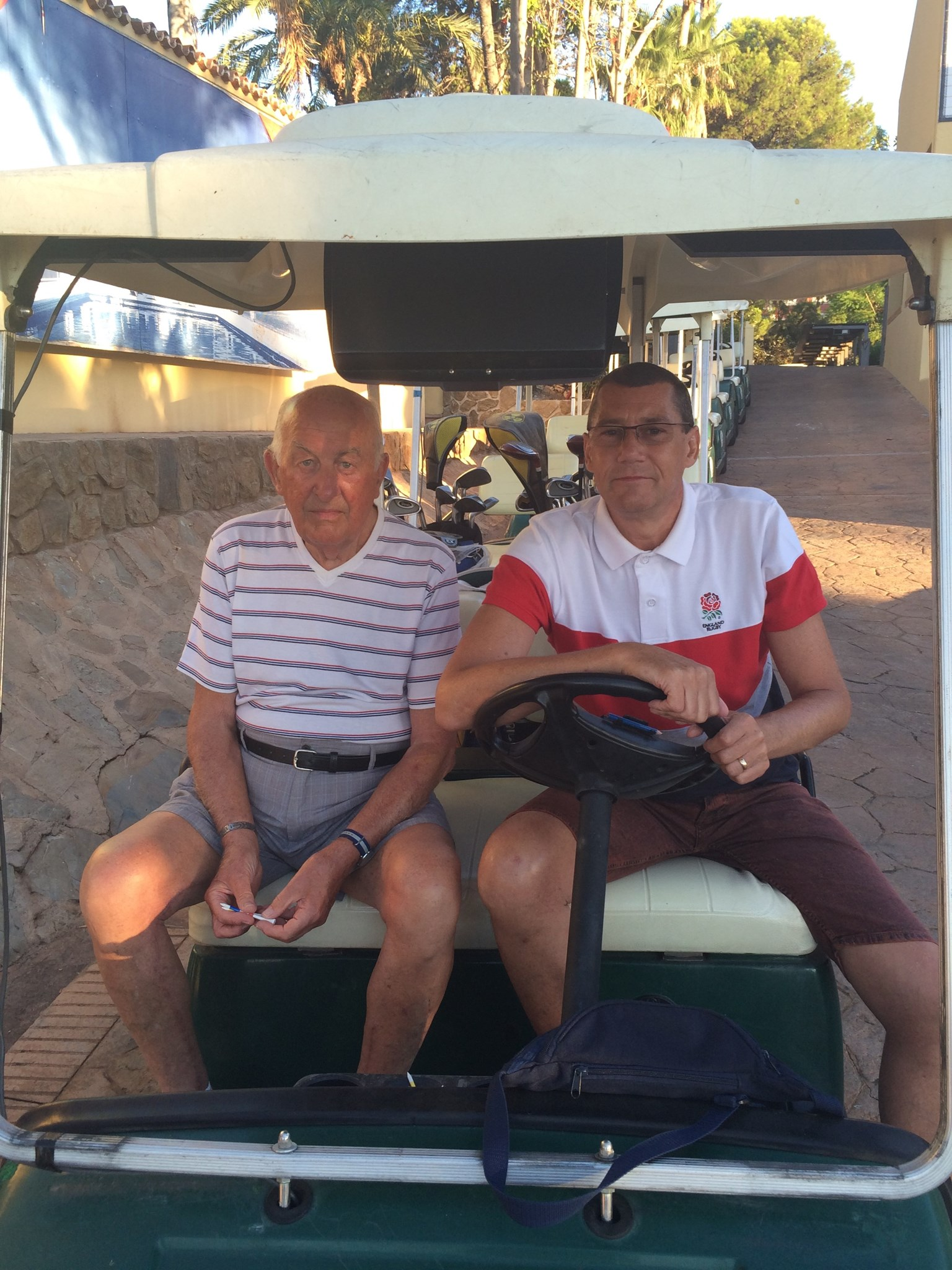 Dickie & Jim - Torrequedrada Golf - 5th August 2014