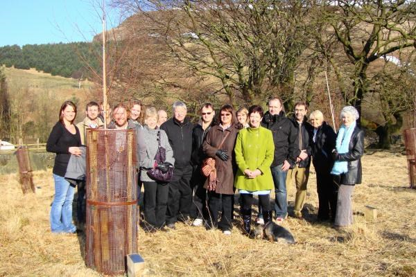 Ist Anniversary of the tree planting