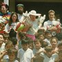 Sam on tour in Nicaragua 1988