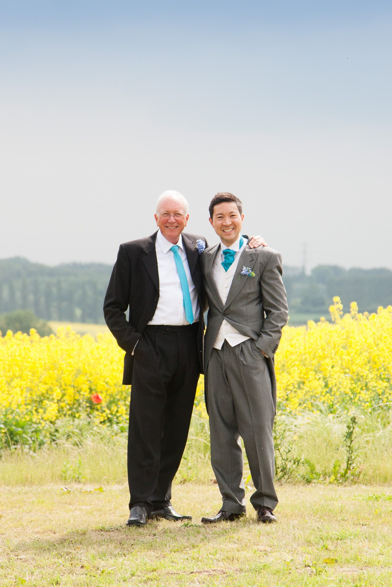 Me and Dad on my wedding day June 2013