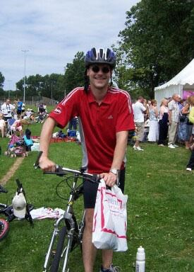 Fundraising for Christies - Manchester to Blackpool Bike Ride 2006