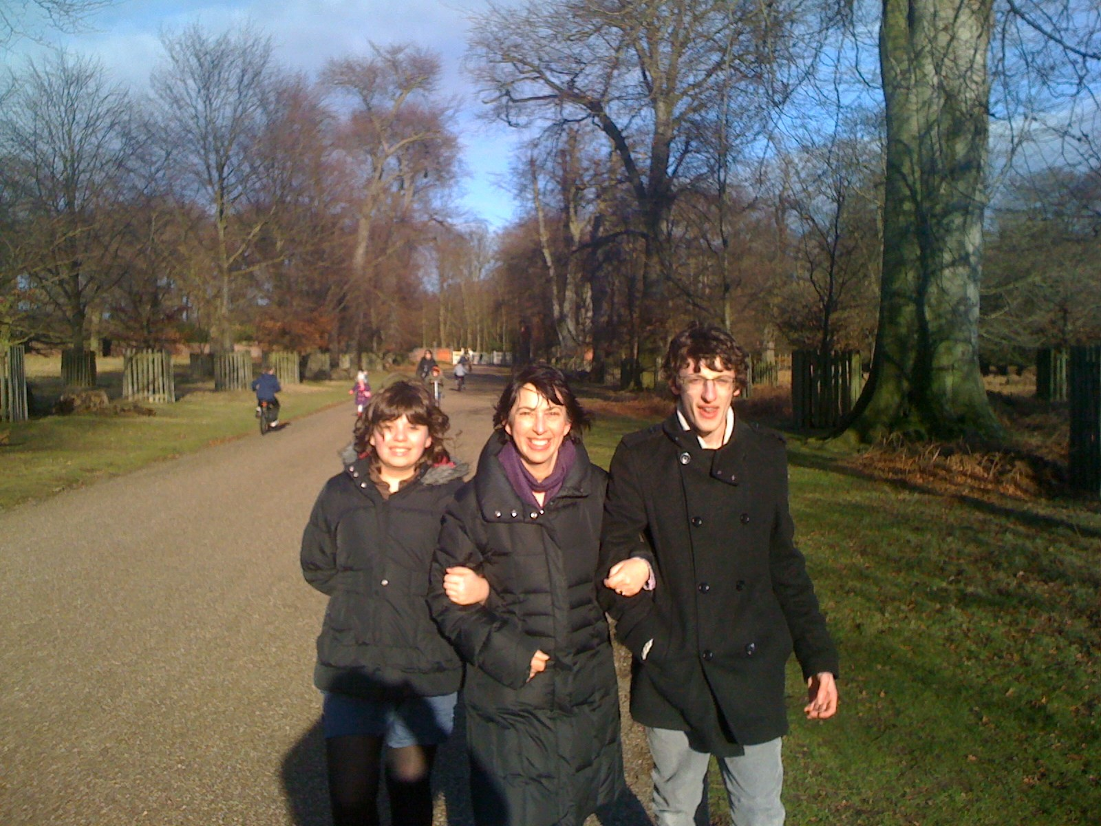 Walking with Daniel and Ruth in Dunham Massey 2007