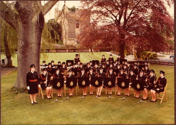 1977 Lyn with WRAC Staff Band