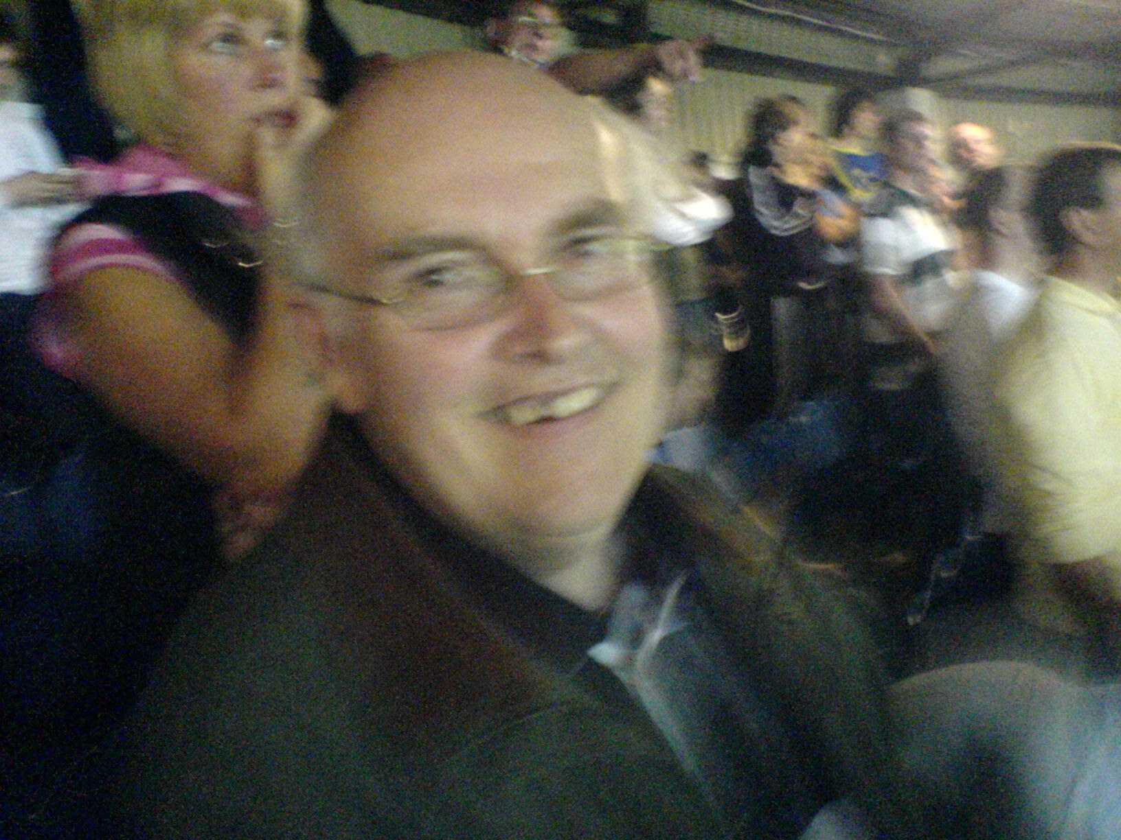Dad at Elland Road for the Playoff semi final in 2006