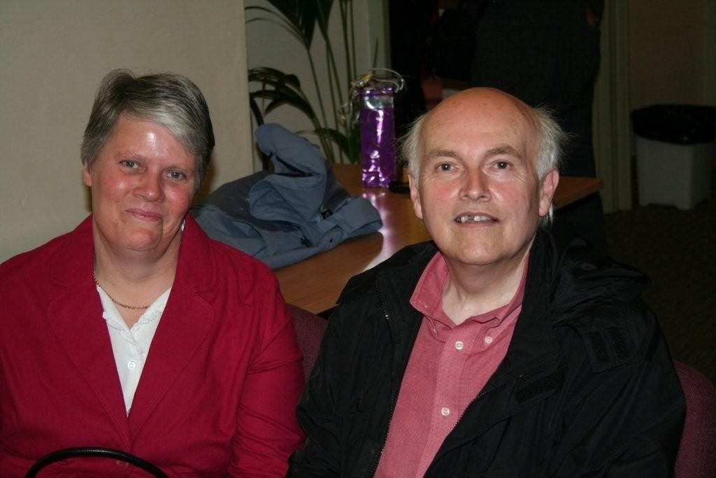 Dad and Mum attending a friends wedding in 2008
