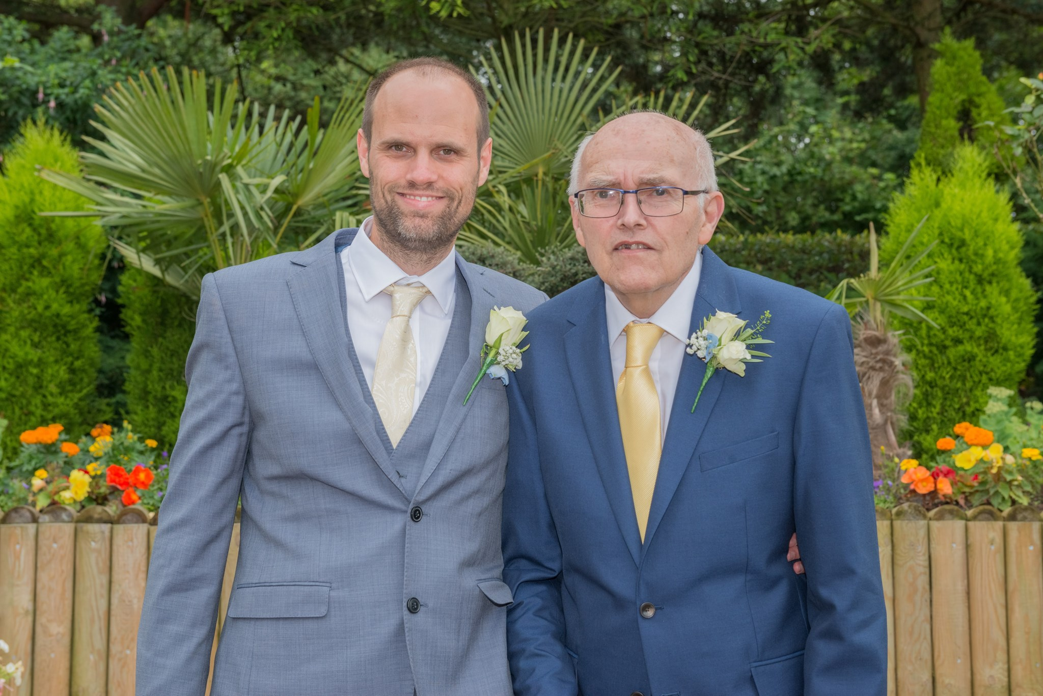Me and Dad - My Wedding July 2017