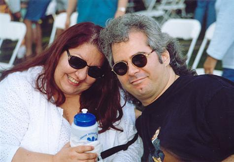 Flo and Mark in Westmont 2003