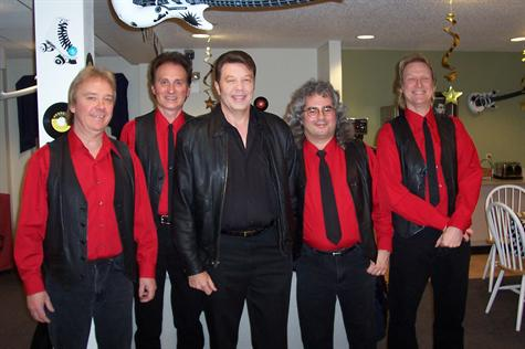 Before the Surf Ballroom show with Johnny Star and the Meteors