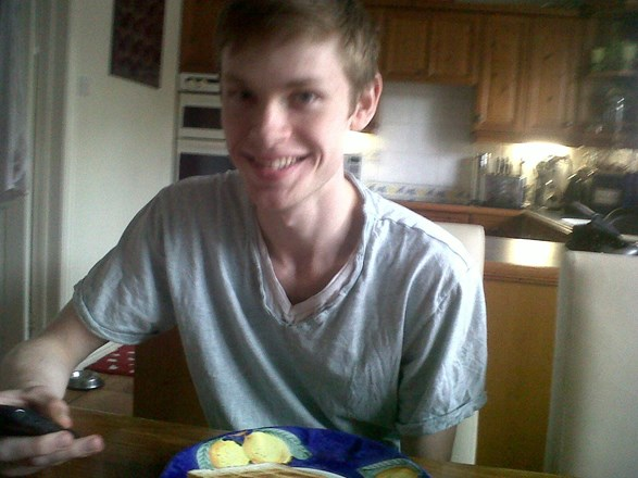 My beautiful Boyfriend with the cheeky smile.