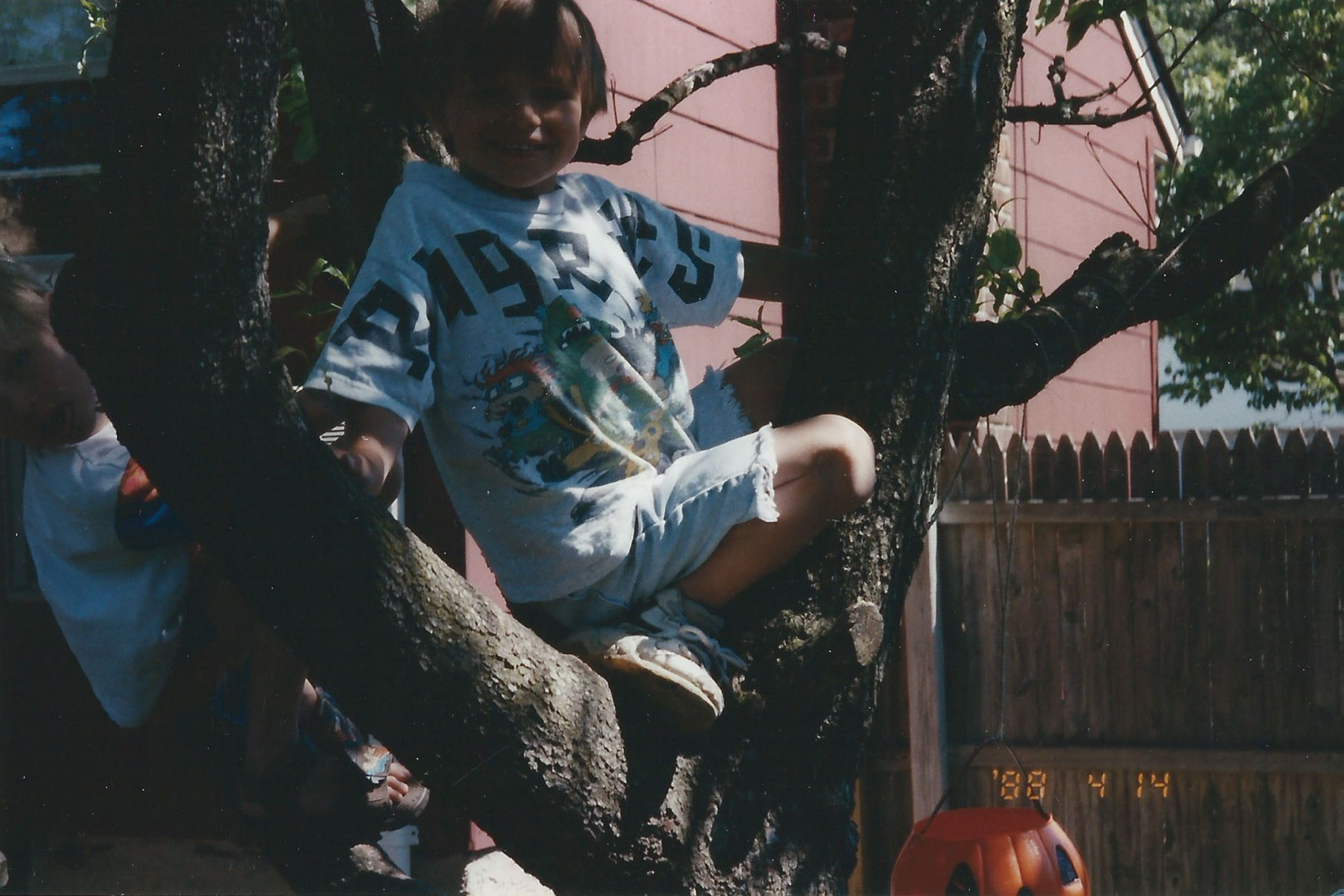 Brian Loved Climbing Trees