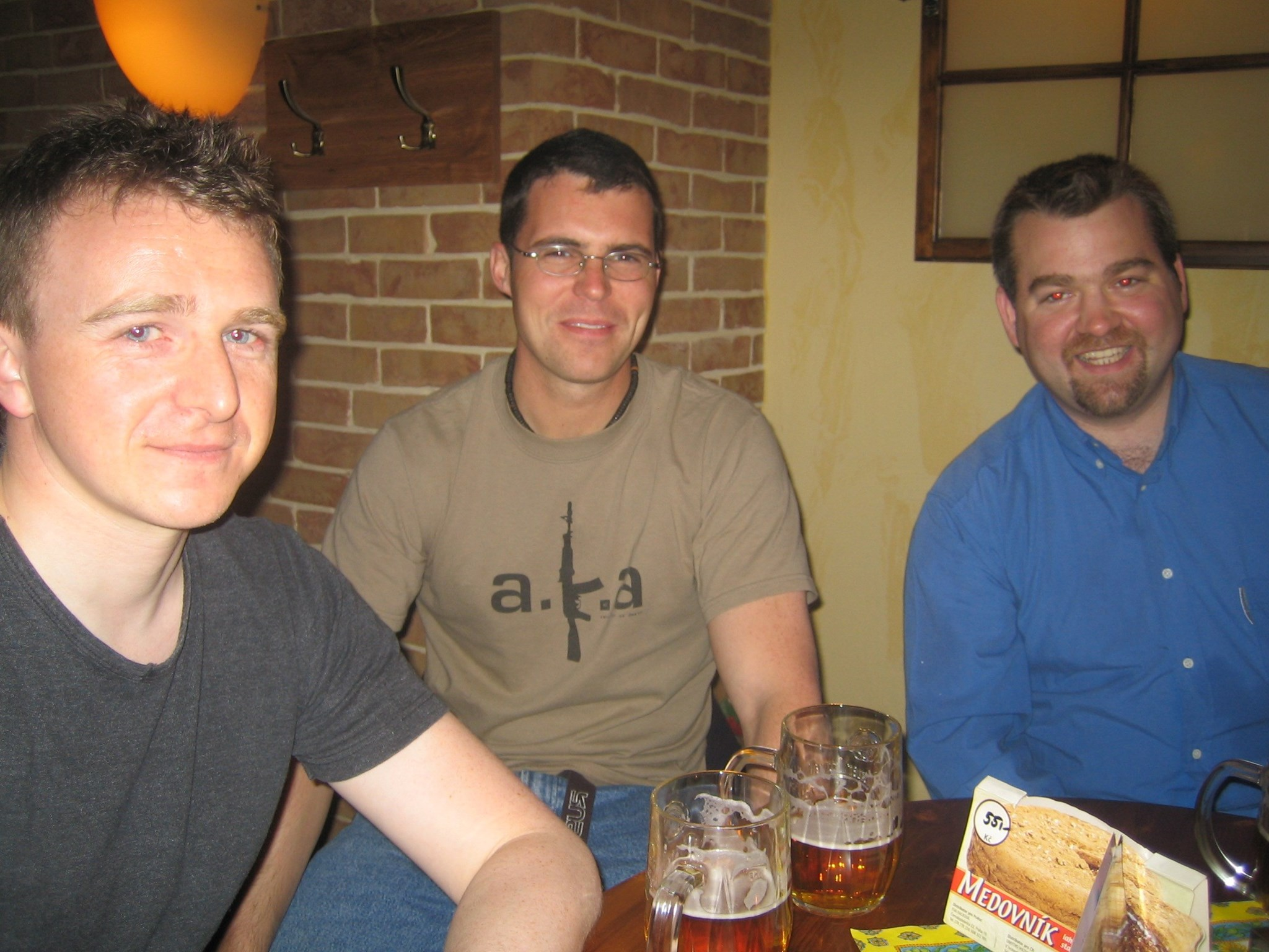 Weekend in Prague with the boys (May 2005)
