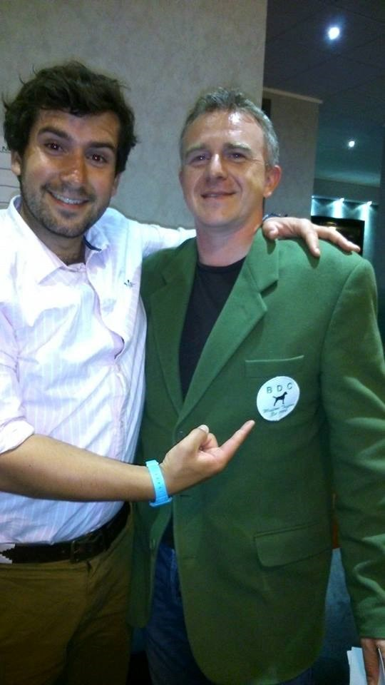 BDC Champion 2014 - one very proud owner of the only green jacket worth winning..