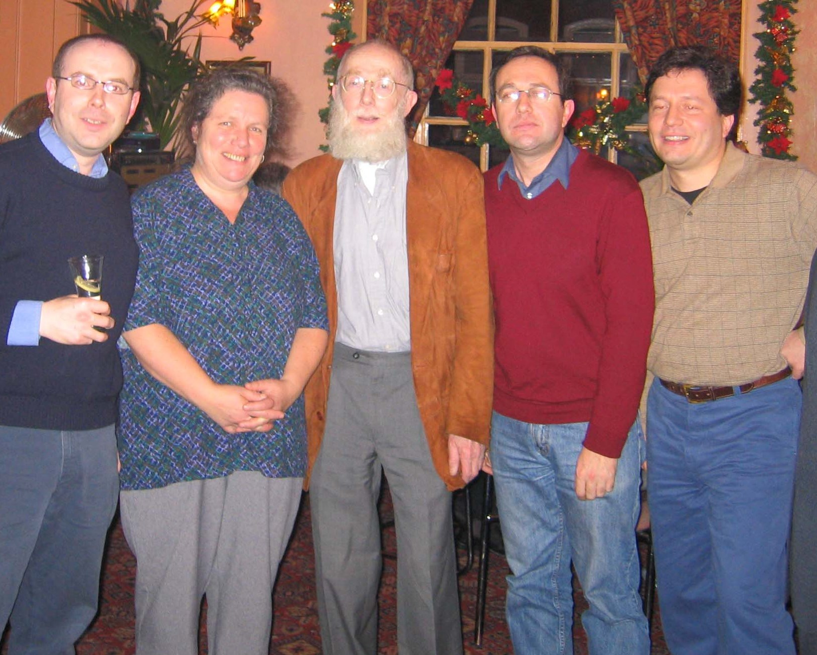 From left Adam, Abi, Felix, Simon and Daniel. 2005