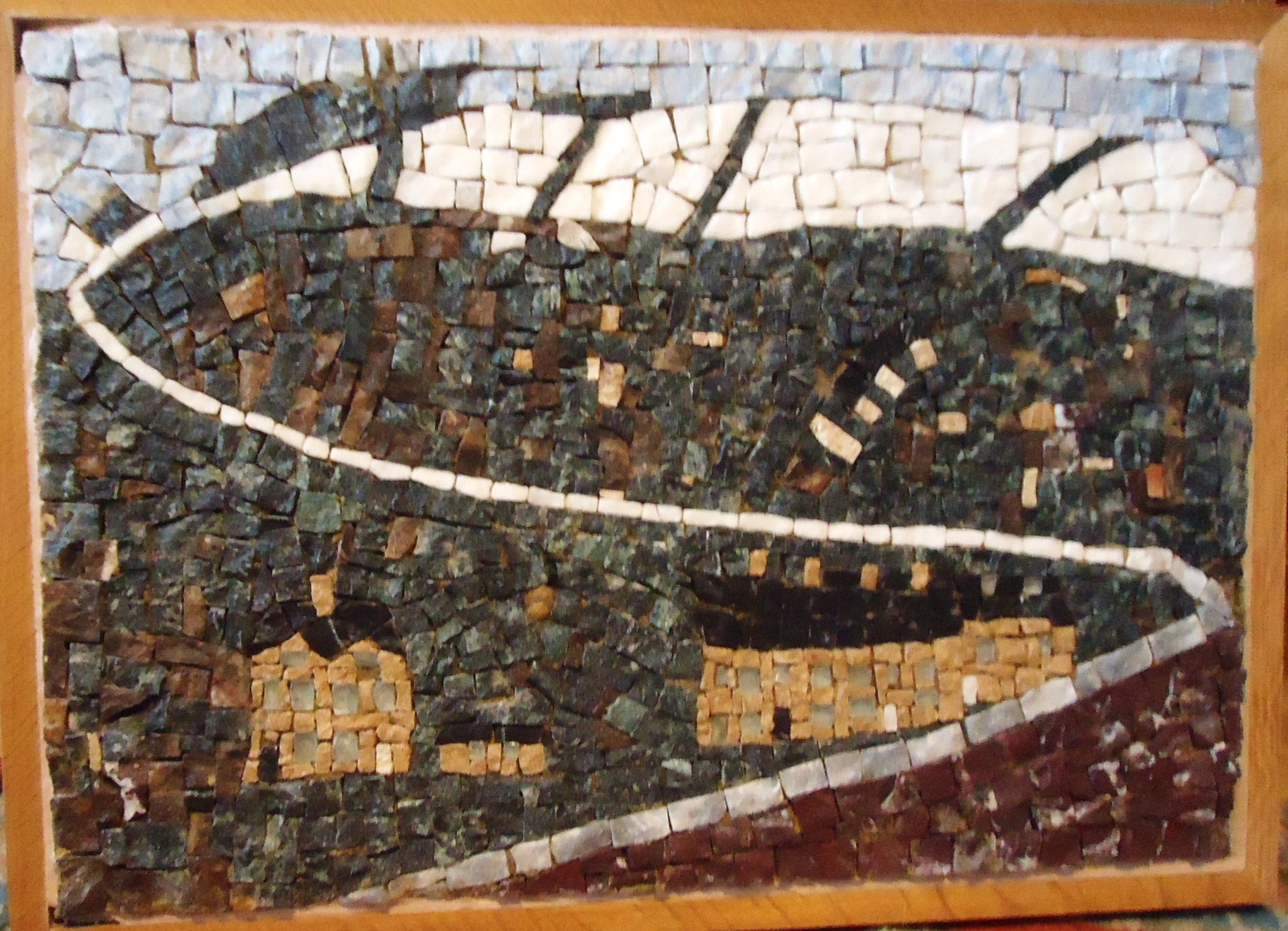 FELIX'S MOSAIC OF OUR HOUSE IN HEBDEN BRIDGE