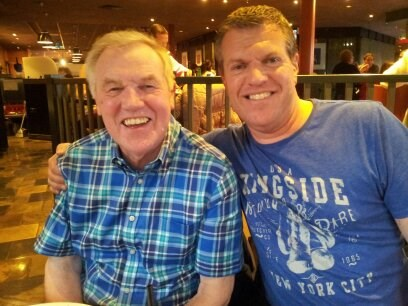 Me (Neil) and my wonderful Dad at Center Parcs.