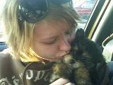 2008- Brittney and her puppy Boo
