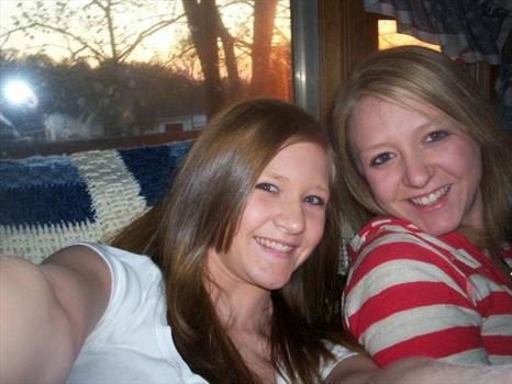alisa and brittney on the couch