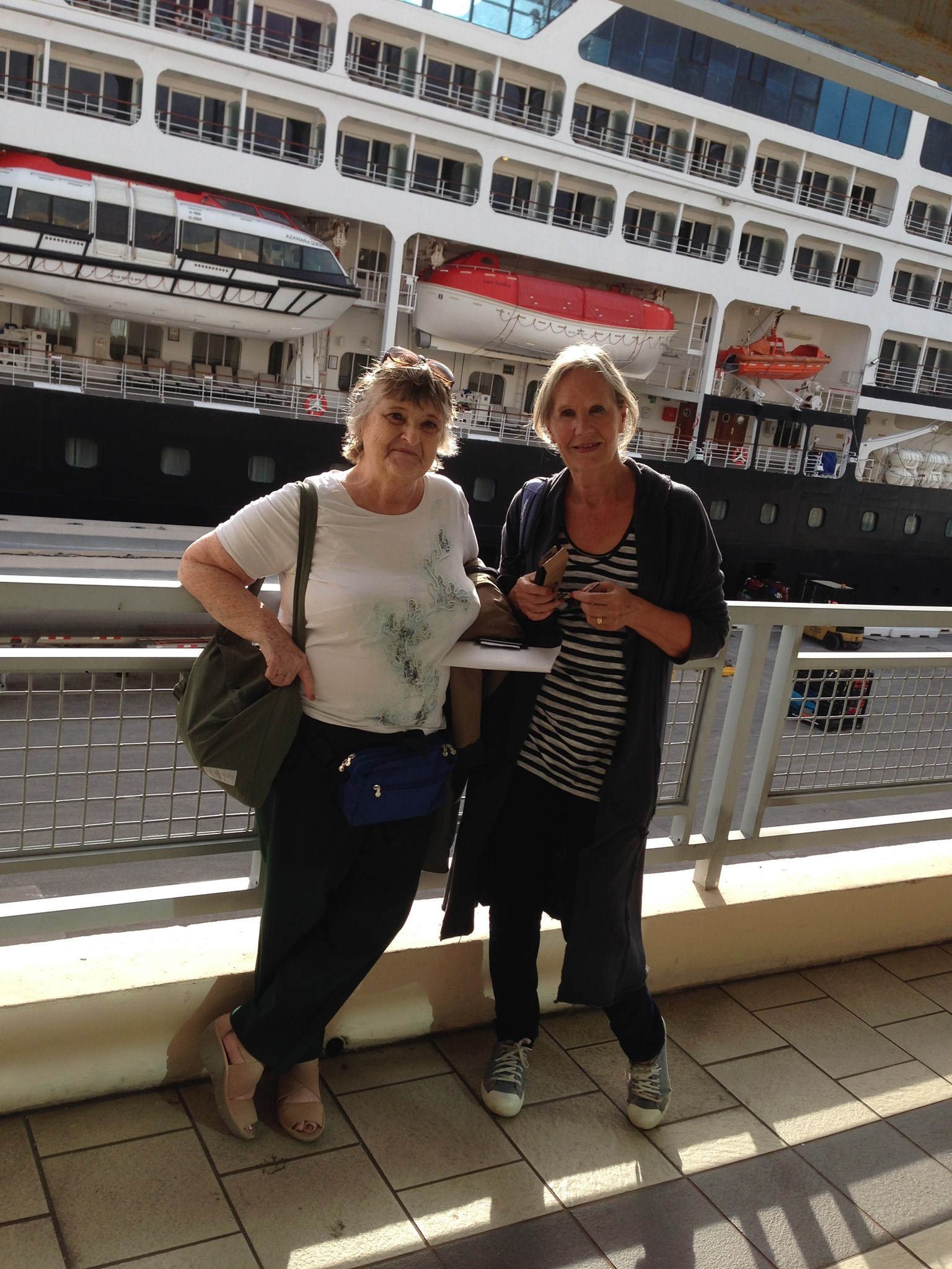 On a cruise to Cuba!