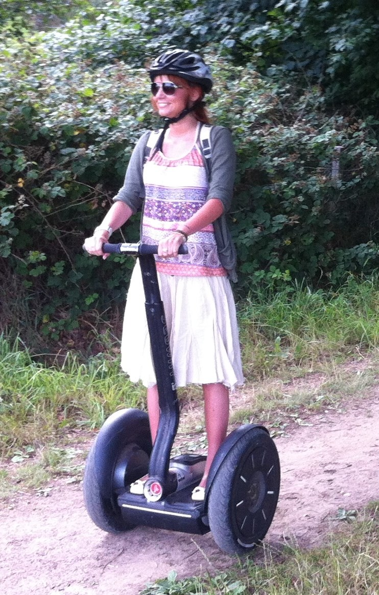 Segway Tours, Blickling Hall Norfolk 2014