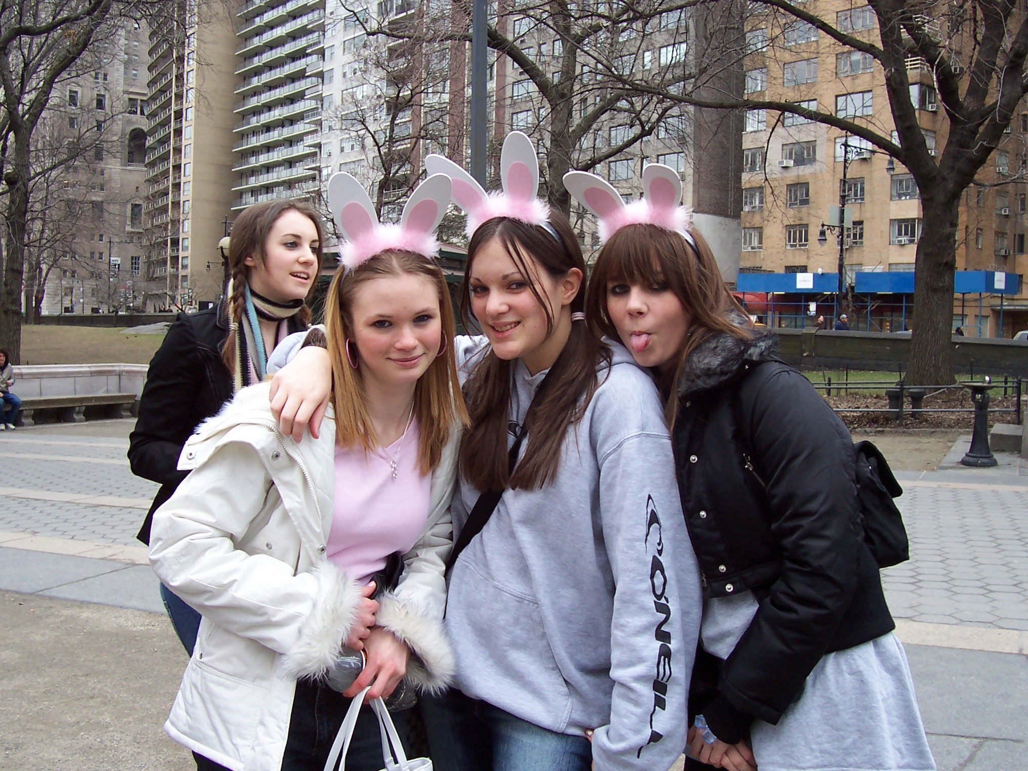 Easter bunnies in NYC