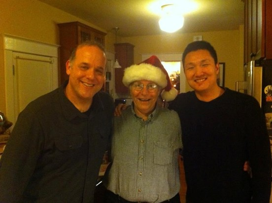 A lovely holiday gathering at Jim's house!