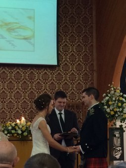 Alasdair marries Jan