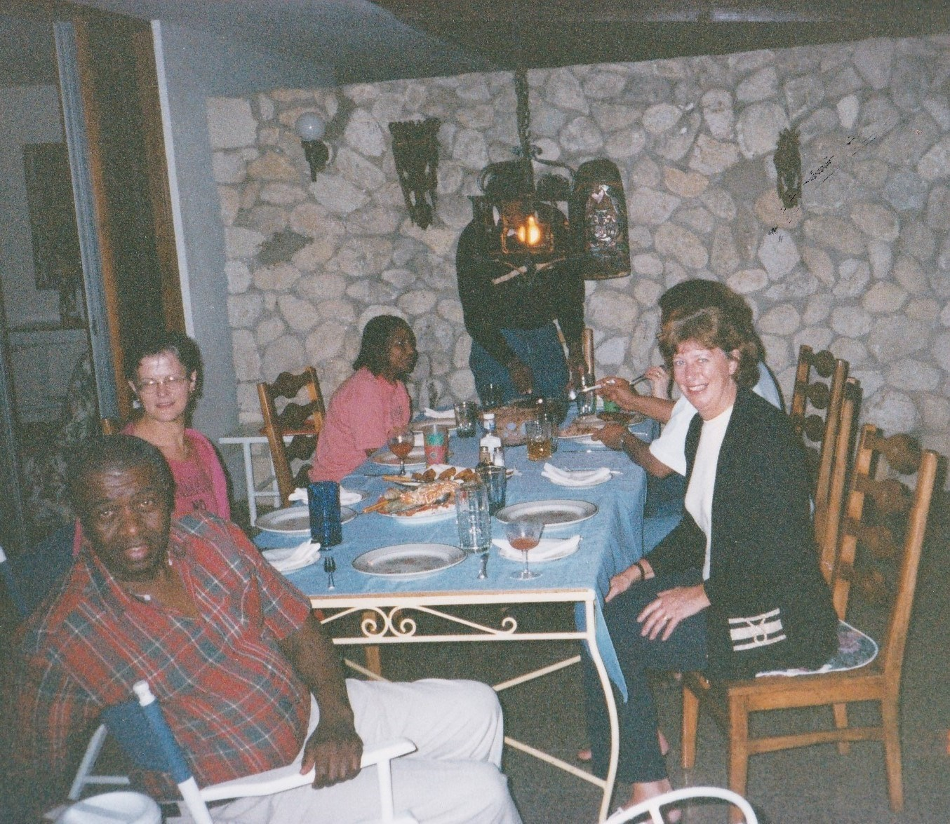 2000 Jamaica with Hilary and Milton