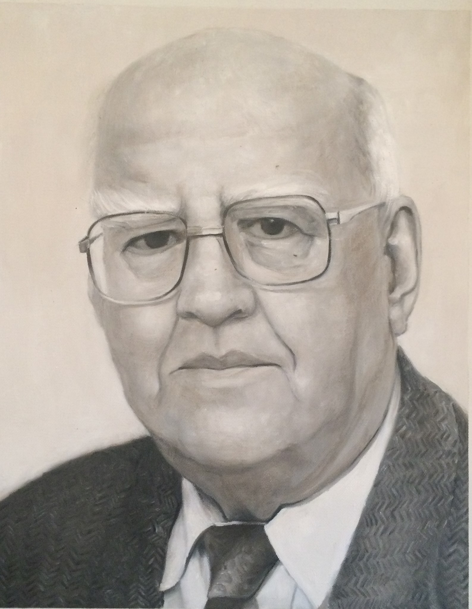 Drawing of Len Unknown Artist