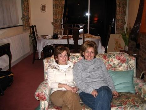 With Diane, England 2005