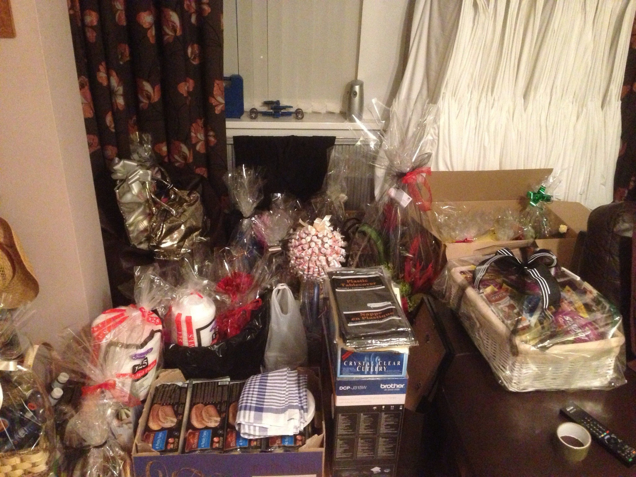 A selection of donations given from very kind people.