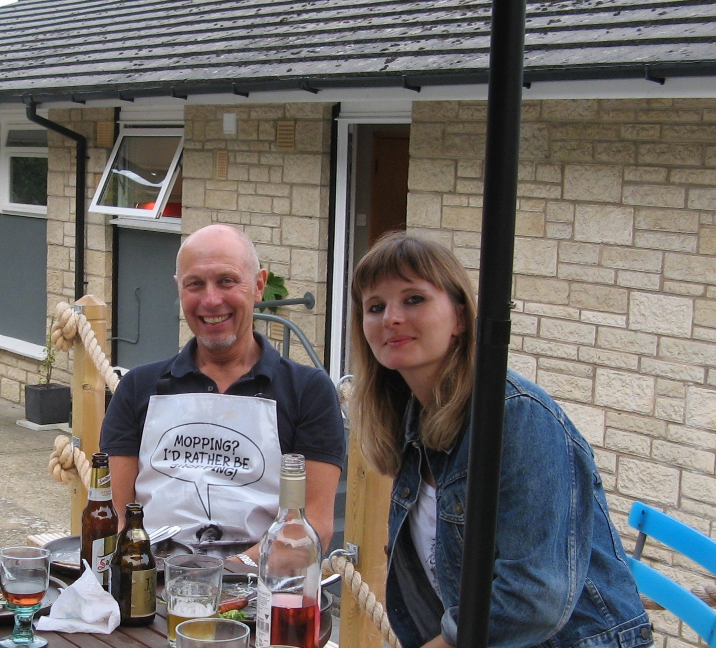David and Charlotte IOW BBQ Aug 2014