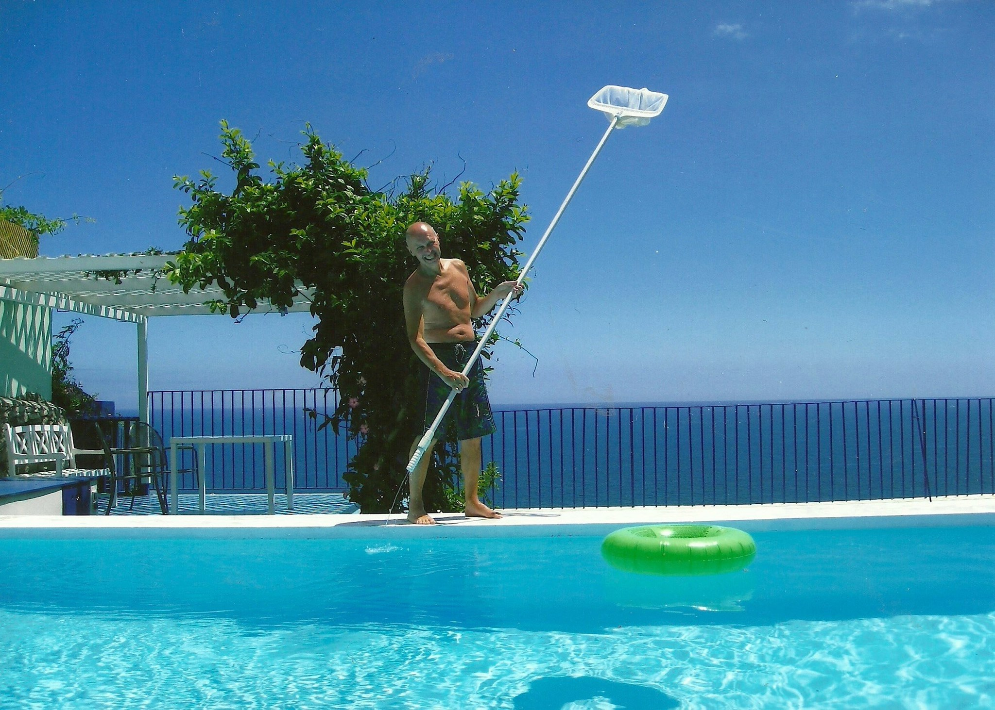 Pool Boy, Funchal, Madeira