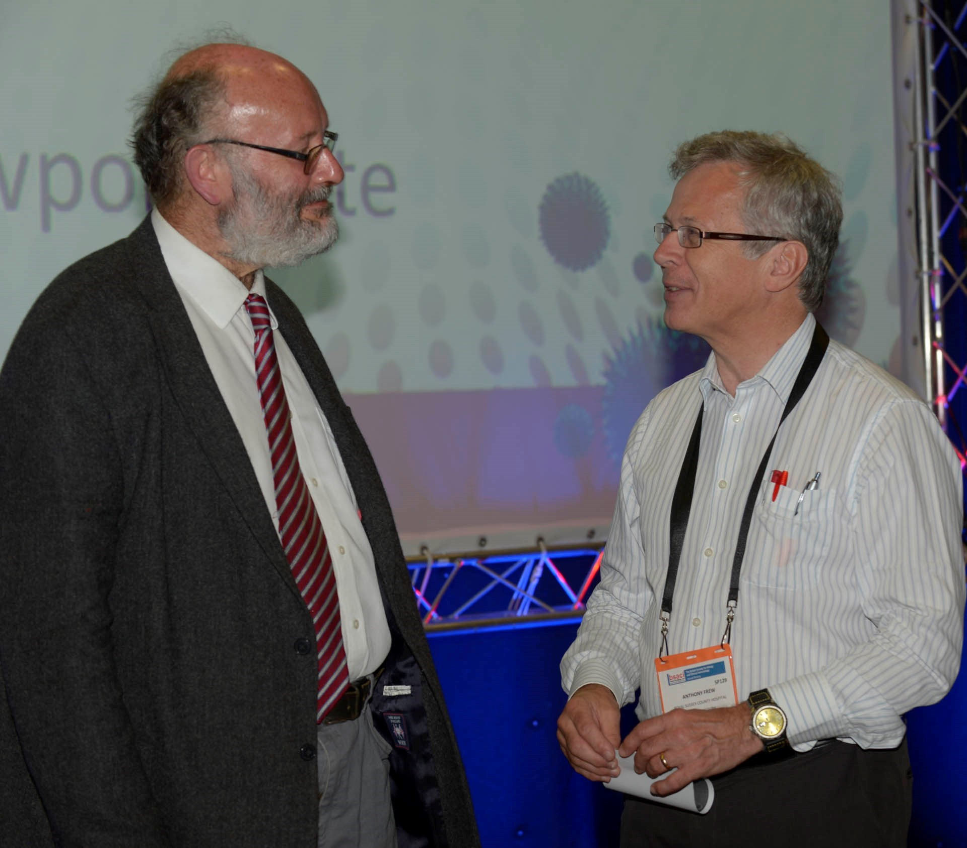With Chris at 2013 Meeting