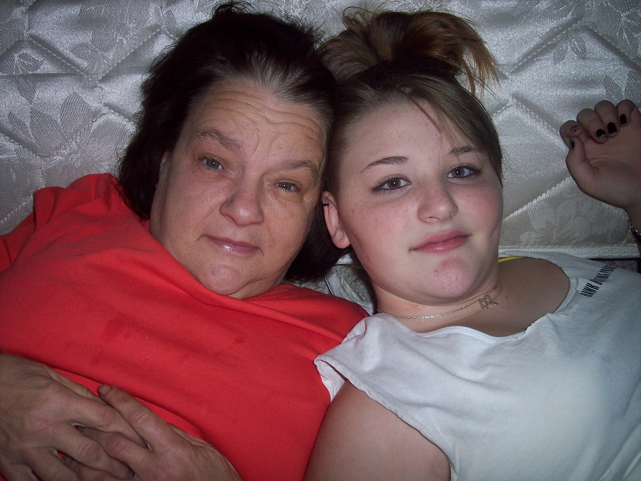 Mercedes with her Nannie